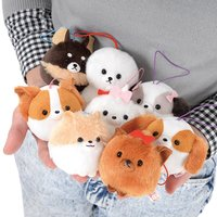Fusa Fusa Wanko Dog Plush Collection (Mini Strap)
