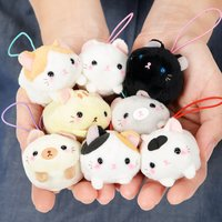 Puchimaru Nesoberi Nyanko Cat Plush Collection
