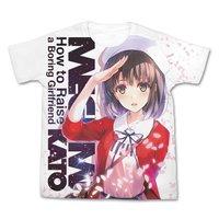 Saekano: How to Raise a Boring Girlfriend Megumi Kato White Graphic T-Shirt