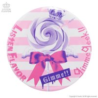LISTEN FLAVOR x Gimme Geek! Collaboration Vol. 2 Angel Candy Tin Badge