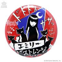 LISTEN FLAVOR Emily the Strange Comic Badge