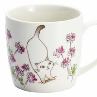 Wildflowers & Cats Mug