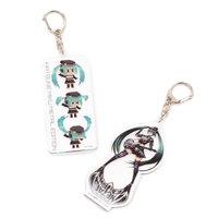 Hatsune Miku Metal Edition Acrylic Keychain Charm