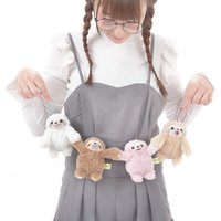 Namakemono no Mikke Otomodachi Sloth Plush Collection (Ball Chain)