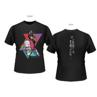 Sword Art Online the Movie: Ordinal Scale Triangle Grid Black T-Shirt