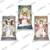 Sneaker Bunko 30th Anniversary The Melancholy of Haruhi Suzumiya Acrylic Stand Set