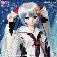 Dollfie Dream Hatsune Miku Japanese Crane Shrine Maiden Dress Set
