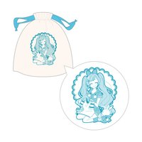 Snow Miku Drawstring Bag