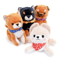 Mameshiba San Kyodai Kuttari Biyori Dog Plush Collection (Big)