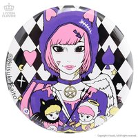 LISTEN FLAVOR x Keisuke Saito Devil & Angel Collab Pin Badge