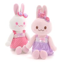Usamomo Dress-Up Plush w/ Polka Dot Dress