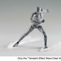 Tamashii Effect Clear Wave Effect Peices
