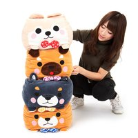 Mameshiba San Kyodai Mochikko Cube Dog Plush Collection (Big)