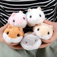 Coroham Coron Mocchiri Hamster Plush Collection (Ball Chain)