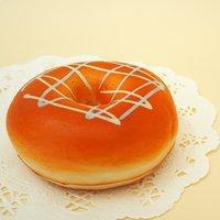 Mother Garden Vanilla Glazed Donut Squeeze Toy