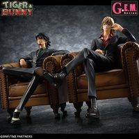 G.E.M. Series Tiger & Bunny S.O.C. Kotetsu & Barnaby Set