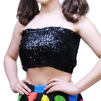 ACDC RAG Sequin Tube Top