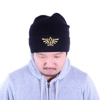 The Legend of Zelda Black Cuff Beanie