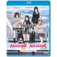 Amagami SS & Amagami SS+ Complete Collection Blu-ray