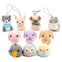 Puchimaru All-Stars Animal Plush Collection (Mini Strap)