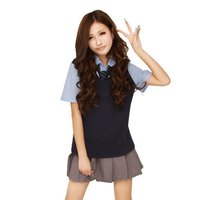 Summer Colors School Uniform Cosplay Outfit Set