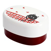 Hungry Cat Red Lacquerware Lunch Box
