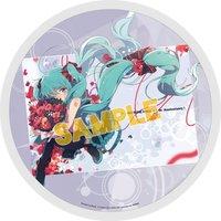 Vocaloid Hatsune Miku Round Towel: Ogipote Ver.