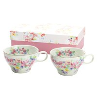Hana Miyabi Mino Ware Soup Cup Set