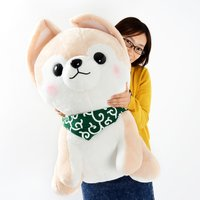 Mameshiba San Kyodai Sasuke Dog Plush (Super Jumbo)
