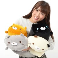 Sasurai no Tabineco Mikemura-san Fuwa Mocchi Medium Plush Collection