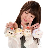 Harinezumi no Harin Flowers & Apples Hedgehog Plush Collection (Ball Chain)