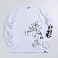 PARK Urahara Rito Line Drawing Long Sleeve T-Shirt