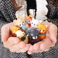 Mameshiba San Kyodai Yura Kororin 4 Dog Wobble Mascot Collection