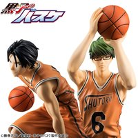 Kuroko's Basketball Midorima & Takao Orange Uniform Ver. Set