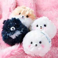 Fuwa-Mofu Pometan Dog Plush Collection (Ball Chain)
