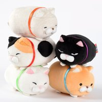 Tsumeru! Mochikko Hige Manjyu Cat Plush Collection (Standard)