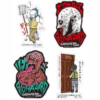 Capcom x B-Side Label Resident Evil Stickers