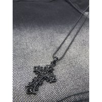 Cross Short Necklace A