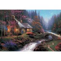 Twilight Cottage Jigsaw Puzzle