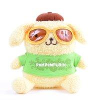 Pompompurin Bean Doll Sunglasses Plush