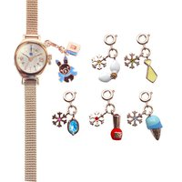 Snow Miku Wrist Watch w/ Charms