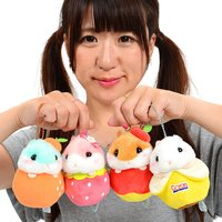 Coroham Coron Fruits Vol. 2 Hamster Plush Collection (Ball Chain)