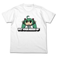 Hatsune Miku CHANxCO Ver. Put Your Hands Up White T-Shirt
