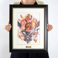 Guilty Gear Xrd -Sign- CS Ver. Main Visual Framed Reproduction Art Print
