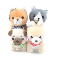 Mameshiba San Kyodai Nihonbare Dog Plush Collection (Ball Chain)