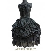 Atelier Pierrot Jacquard Corset Dress