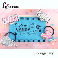 Le cocone Candy Hair Accessories w/ Pouch