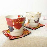 Hana Kairo Mino Ware Cup Set
