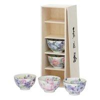 Hana Kobo Mino Ware Rice Bowl Set