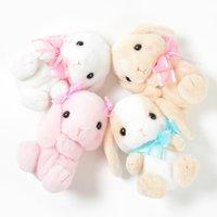 Pote Usa Loppy Rabbit Pretty Ribbon Pouches